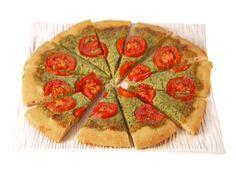 Arugula, Ricotta and Smoked Mozzarella Pizza from FoodNetwork.com