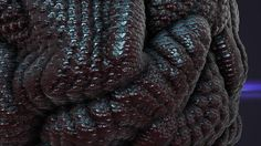 This is what I think my stomach cramp looks like. Merino Wool Blanket, Cinema 4d, Leather, 3d