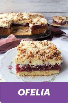 Homemade Cakes, Tiramisu, Cherry, Food And Drink, Pudding, Cooking Recipes, Polish Food, Cookies, Sweet