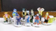Dad Guy Man French Miniature Figurines  by UrbanRenewalDesigns, $3.50