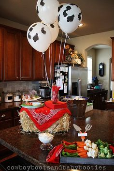 decoraciones con globo de cumpleanos vaquero - Yahoo Image Search Results