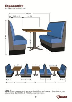 How to customize your booth - Tips and Ideas Restaurant Booth Seating, Restaurant Layout, Deco Restaurant, Restaurant Kitchen, Restaurant Chairs, Bar Interior Design, Restaurant Interior Design, Cafe Design, Small Restaurant Design
