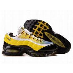 http://www.nkmaxshoes.co.uk/ J4ie0 Nike UK - Air Max 95 Essential Mens Yellow Black