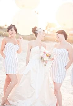casual bridesmaids (dresses they can actually wear again!) | photographer Brooke Images