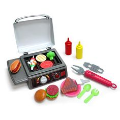 "$16.98  Gadget Gourmet Sizzle and Glow BBQ Grill - Blue Box, Inc. - Toys ""R"" Us"