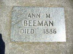 Ann grave