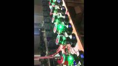 HOLA 7X15W LED Moving Head Light Production Testing