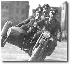 BMW stunts. Oh those wacky and lovable Nazis.  What a bunch of fun loving guys!