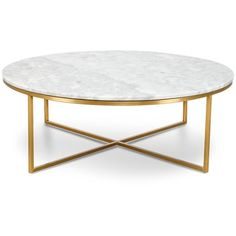 Primo Coffee Table Round featuring polyvore, home, furniture, tables, accent tables, round coffe table, round furniture, round occasional tables, round accent table and round coffee table