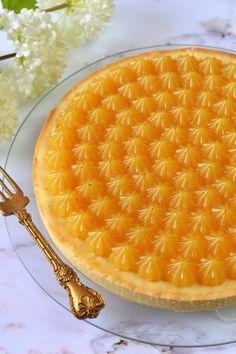 Vaníliás-narancsos pite recept - Kifőztük, online gasztromagazin Tart Recipes, Food Porn, Lemon, Food And Drink, Pie, Sweets, Cookies, Candy, Torte