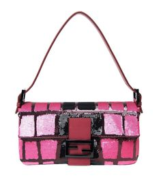 0c52c2bf53e2 Fendi  Sequined Classic Baguette Shoulder Bag Bag Pack