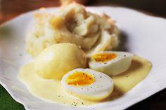 √    Eier in Senfsauce