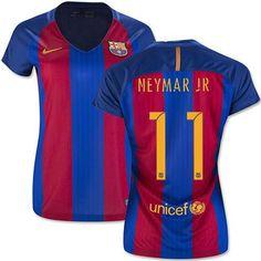 Nike neymar jr. fc barcelona womens home jersey 2016 17 f121ae9ed