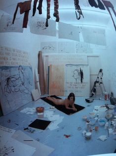 Tracey Emin - Exorcism of the last painting I ever made 1996