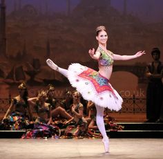 Alison McWhiney as an Odalisque in English National Ballet's Le Corsaire. Photograph: Cheryl Angear