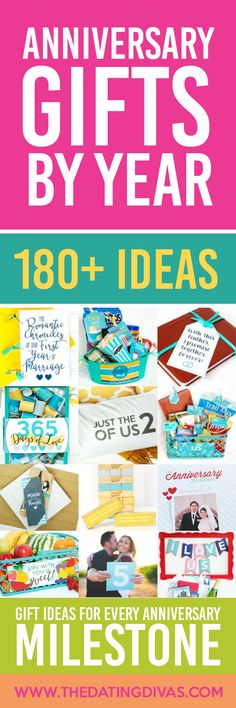 The ULTIMATE Anniversary Roundup! 180+ Anniversary Ideas {including traditional anniversary gifts} categorized by year. PLUS lots of anniversary gifts and ideas that work for ANY year! PINNING NOW for my next anniversary!