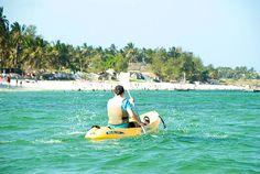 Kayaking at Voyager Beach, Mombasa