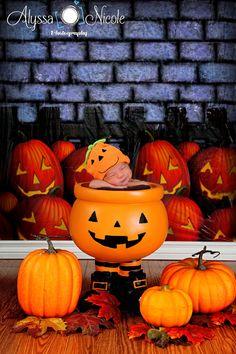 Halloween set for a newborn