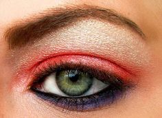 two tone eyeshadow
