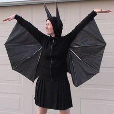 Fledermauskostüm selber machen