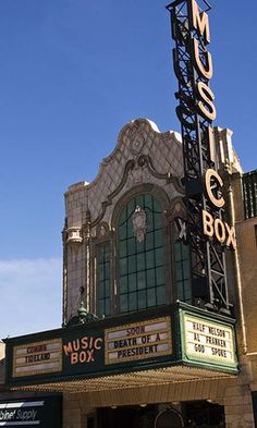 The Music Box Theatre is a great place to see a movie.  Whether it is a new…