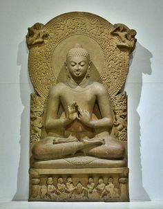 """Gautama Buddha, also known as Siddhārtha Gautama, Shakyamuni, or simply the Buddha, was a sage on whose teachings Buddhism was founded. He is believed to have lived and taught mostly in eastern India sometime between the sixth and fourth centuries BCE.  The word Buddha means """"awakened one"""" or """"the enlightened one"""". """"Buddha"""" is also used as a title for the first awakened being in an era. In most Buddhist traditions, Siddhartha Gautama is regarded as the Supreme Buddha (Pali sammāsambuddha…"""
