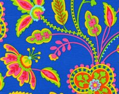 Garden Floral Blue: Garden Party by Pillow and Maxfield for Michael Miller Fabrics Yard Cut Tea And Crumpets, Michael Miller Fabric, Fabric Suppliers, Buy Fabric, Youre Invited, Things To Come, Vibrant, Invitations, Quilts