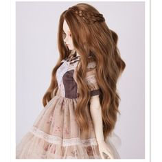 Find More Dolls Accessories Information about 1/4 SD BJD Doll Wis High Temperature Wire Long Wavy BJD Super Dollfile Hair for Dolls,Hot BJD Wig Fashion Doll Acceessories,High Quality hair wigs black women,China wig princess Suppliers, Cheap wig doll from Fenty Store on Aliexpress.com