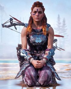 Screenshots from Horizon Zero Dawn taken during gameplay on PS4