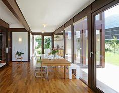 Kundenhaus - Brixental | Innenansicht Essbereich | Finden sie mehr Informationen zu diesem Kundenhaus auf http://www.davinci-haus.de/haeuser-standorte/kundenhaeuser/wilder-kaiser-brixental/ #Traumhaus #Fertighaus #Holfachwerk