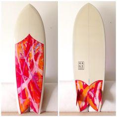 FISH SUMMER LOVE - HAGE SURFBOARDS & DESIGNS