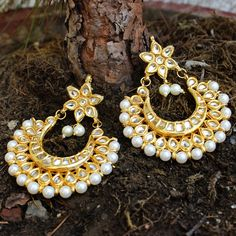 KETIKA EARRINGS available at Indiatrend for $31.99USD Shop with us at…