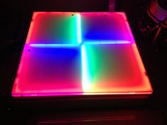 LED Dance Floors. Color changing. Available in all sizes.  www.GoodLifeDESIGNGROUP.com 1-866-994-6635