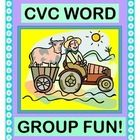 Have fun with FIVE CVC WORD FAMILIES!  Add a GROUP GAME, and bring along Old MacDonald as the host!  Encourage phonemic and sight awareness of the ...