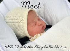 Charlotte Elizabeth Diana: The Princess Of Cambridge Has A Name!