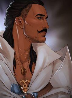 Magister Dorian Pavus. I'll never stop celebrating Dorian's profile.