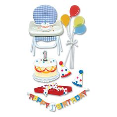 Jolee's Boutique Le Grande 1st BIRTHDAY by LaPetiteFeuille on Etsy,