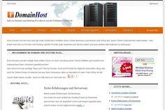 Domain und Hosting Blog mit Informationen