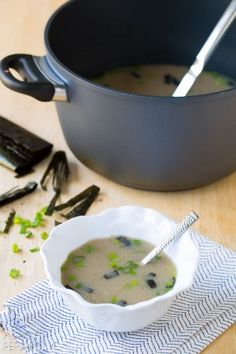 5 Ingredient Miso Soup Recipe in 5 Minutes! #healthy #vegan