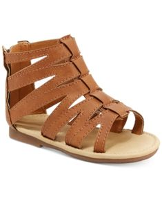 Carter's Tracy Gladiator Sandals, Toddler Girls (4.5-10.5) - Brown