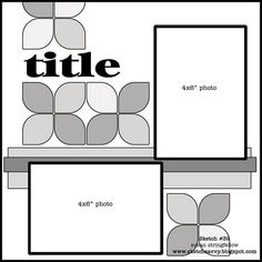 make each flower petal with squares clipped with a corner rounder on the opposite two corners