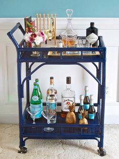 ¡Vuelven Los Muebles De Ratán! Diy Bar CartBar ...