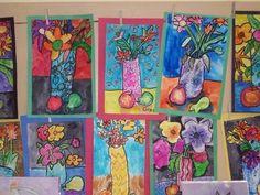 Still Life watercolor 2010 - 2011 Gallery — Mrs. Jones — Piedmont Community Charter School: A Challenge Foundation Academy