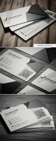 Creative Business Card #businesscards #printready #psdtemplates