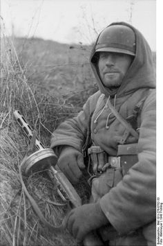 German soldier in Russia