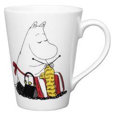 Buy Moomin Companionship Mug from our Mugs range at John Lewis & Partners. Moomin Shop, Moomin Mugs, Knitting Humor, Knitting Yarn, Mugs Uk, Tove Jansson, Kids Book Series, Knit Art, Popular Art