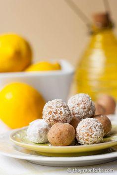 Lemon Creme No Bakes @ TheGreenForks.com #vegan