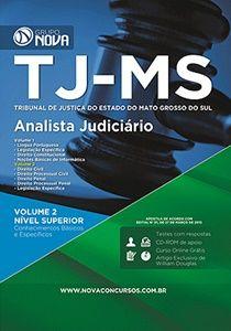 Apostila concurso TJ-MS 2017 Analista Judiciário