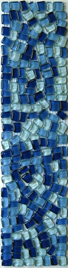 *blue mosaic of Love middle of the night IsaRtfulfairytale Azul Indigo, Bleu Indigo, Love Blue, Blue Green, Blue And White, Blue Mosaic, Blue Tiles, Mosaic Tiles, Le Grand Bleu