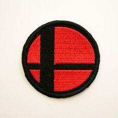 Super Smash Bros Logo Emblem Video Game Crest by Emmabellish